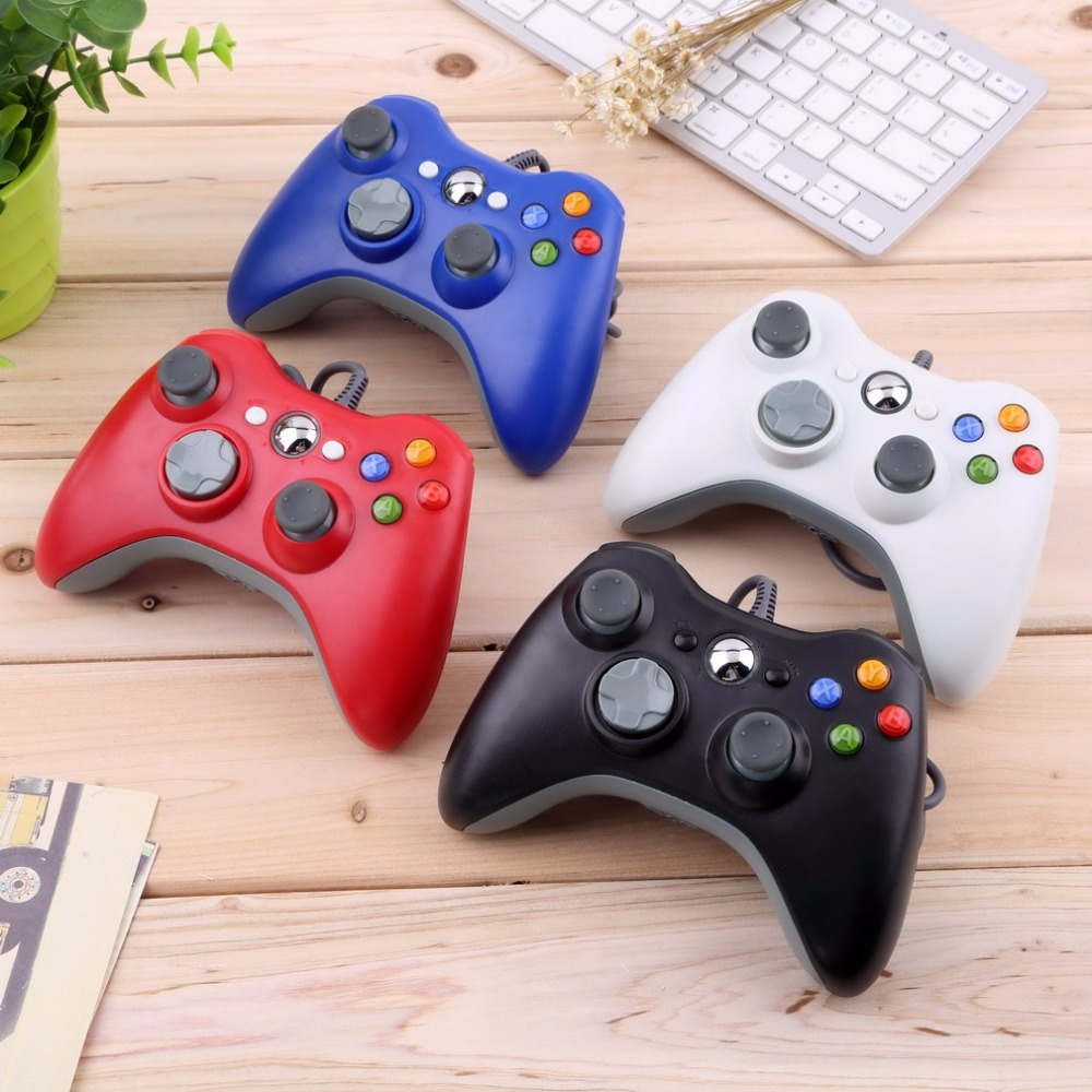 New USB Wired Joypad Gamepad Controller For Microsoft for Xbox Slim 360 for PC for Windows7 Joystick Game Controller kappa низкие кеды и кроссовки