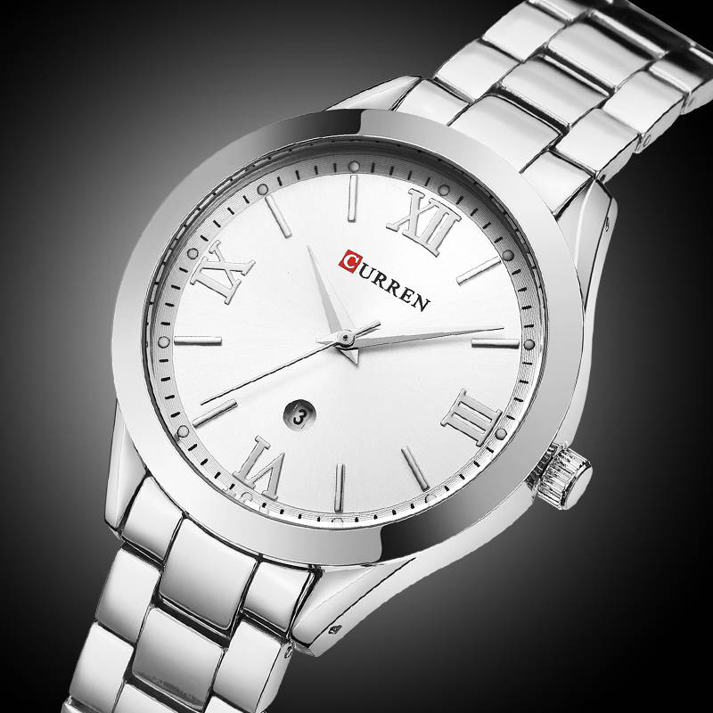 CURREN 9007 Rose Gold Watch Women Quartz Watches Ladies Top Brand Luxury Wach Female Wrist Watch Girl Clock Relogio Feminino