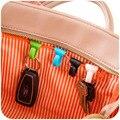 Vanzlife criativo anti perdido saco ganchos dentro built-chave saco chave titular interno clipe para fácil transporte 2 peças um lote