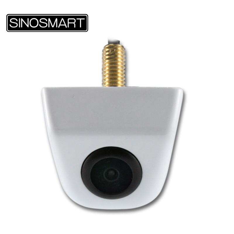 SINOSMART Hot Sale Universal HD Parking Reverse Backup Camera for Car/Suv etc. Stainless Metal 7 Colors 6V 12V 24V