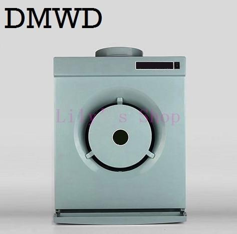 DMWD MINI hotte aspirante latérale location appartements petite cuisine fumée échappement ventilateur cuisinière hottes gamme hotte d'échappement ventilateur EU US