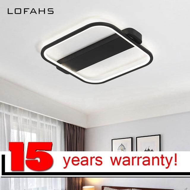 LOFAHS Modern Minimalism high brightness LED Chandelier Creative Bedroom Living Room Ceiling Chandelier lighting