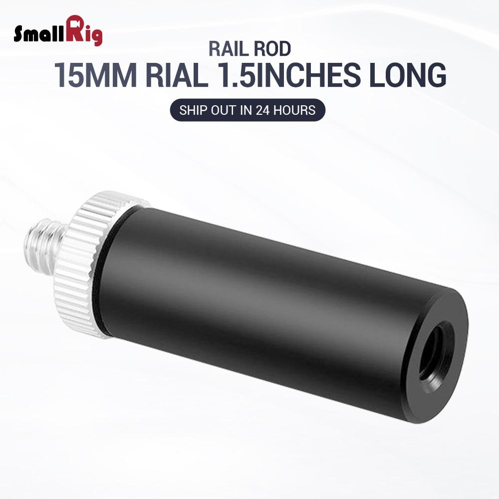 SmallRig 15 millimetri Micro Asta (1.5 pollici) con 1/4 filo 915SmallRig 15 millimetri Micro Asta (1.5 pollici) con 1/4 filo 915