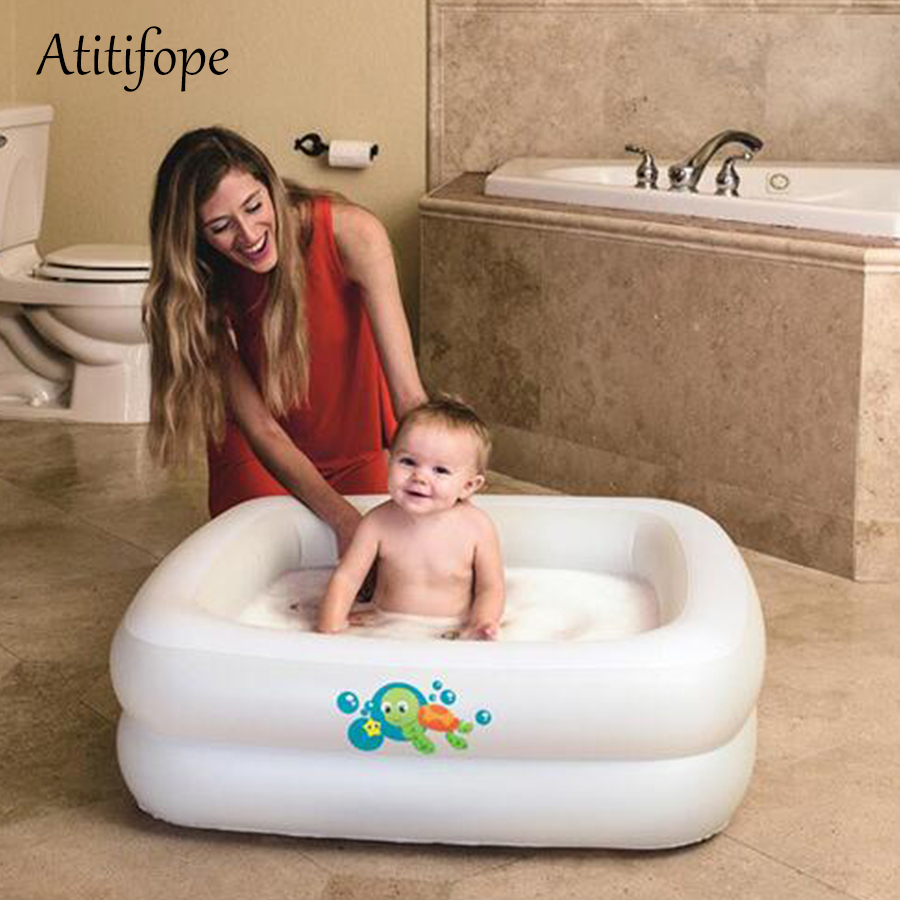Inflatable Pool For Indoor And Outdoor Use Baby Bathtub Summer Swimming Pool Water Play Toy Best Birthday Gift For Baby Activity & Gear Swimming Pool