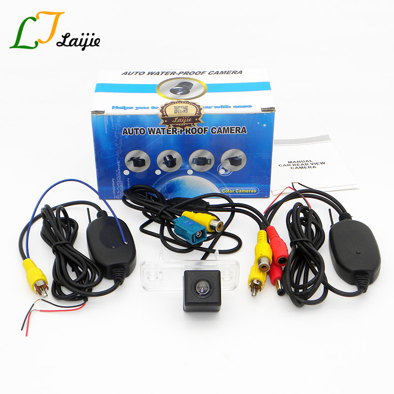 Laijie Wireless Reverse Camera For Mercedes Benz CLC Class CL203 2008 2011 HD CCD Night Vision