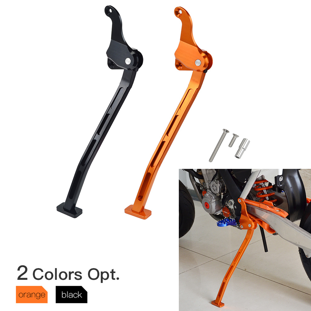 Motorcycle CNC Kickstand Kick Side Stand For <font><b>KTM</b></font> 125 150 250 250 <font><b>350</b></font> 450 SX SXF 2012 2013 <font><b>2014</b></font> 2015 image