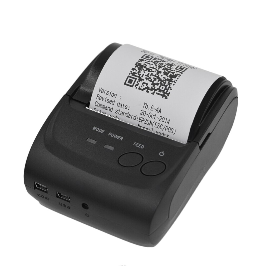POS-5582 DD Portable Mini Printer 58mm Bluetooth 4.0 Android Cash Register POS Receipt Printers Ticket Thermal Printer(China)