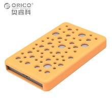 ORICO 2.5 жесткий диск NAS диск внешний корпус hdd hd корпус Алюминий USB3.0 5  6 Гбит/с SATA силиконовый защитный чехол
