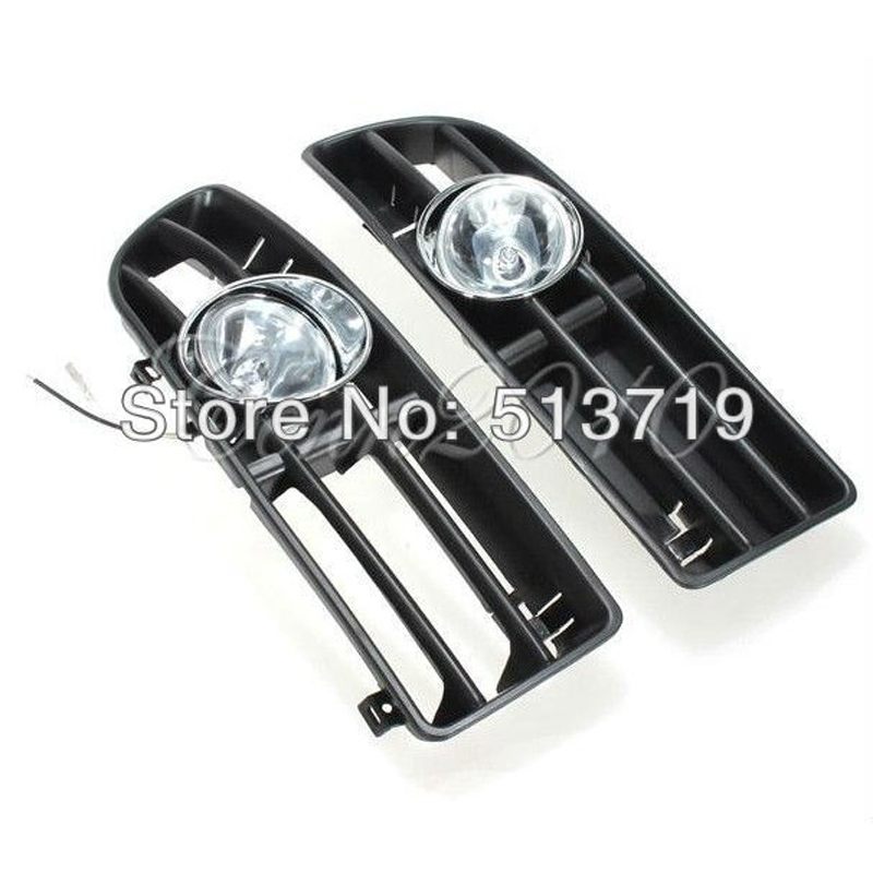 Dongzhen Car Front Fog Light Cover Trim Decorative Frame Fog Lamp Switch Fit For VW JETTA