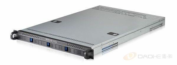 1U plug and drop serveur armoire de commande industrielle 4 serveur de disque dur grande carte SAS SATA fond de panier