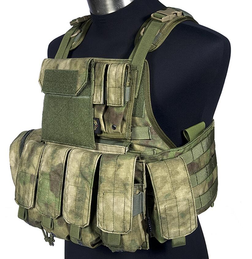 FLYYE  MOLLE  Military Tactical Vest  Style PC Plate Carrier With Pouch Set VT-M003 in stock flyye genuine molle force recon vest military tactical vest vt m013