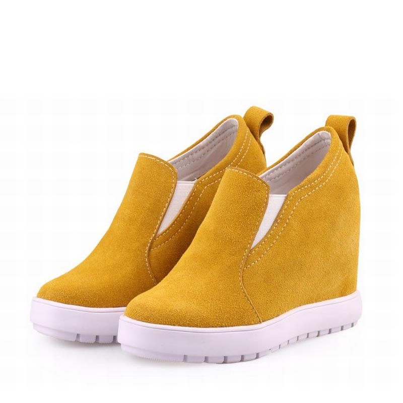 Véritable Deportivas Wedge Tenis Picture 2017 Women as rose Picture Zapatos Femmes Pink Plate Feminino Serpent forme as Chaussures Cuir En Zapatillas Show Red Shoes Talons Hauts wedge Yellow platform Mujer Black ladies Femme White 0nqExqwv7