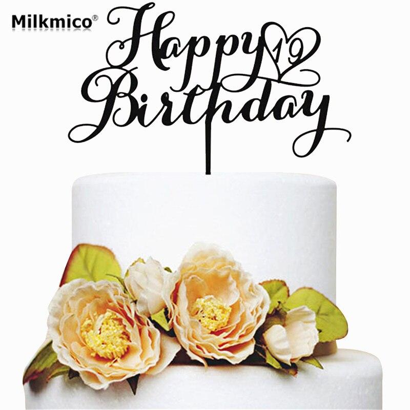Toppers Torta Di Compleanno Buon Compleanno Proposte Bigne Per Le