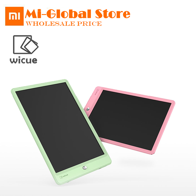 New arrival xiaomi Wicue 10 Size Kids LED Handwriting Board Imagine Drawing pad Expanding child idea