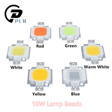 12V - 15V 10W High Power Integrated LED Lamp Chips SMD Bulb For Floodlight Spot light White/Warm white/Red/Green/Blue/Yellow(China)