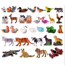Simulation Mini Zebra/Crocodile/Giraffe Miniature Mini Resin