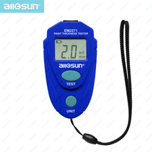 all-sun EM2271 Digital LCD Coating Thickness Gauge Car Painting Thickness Meter paint thickness meter  Instrument 0-80mil 0.1MM