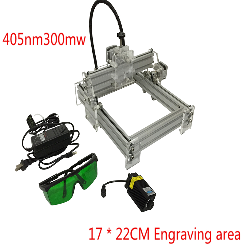 300MW laser engraving toy grade DIY desktop micro laser engraving machine engraving machine marking 170*200 working face футболка toy machine poo poo head face brown