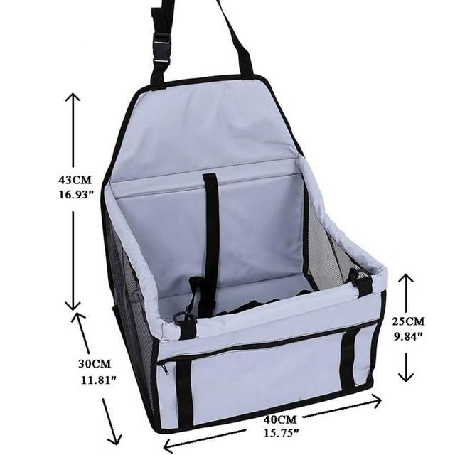 CAWAYI KENNEL PVC Pet Car Seat Bag Carriers Waterproof Folding Hammock Car Mat Seat Cover Dog Carry Storage Bag for Travel D1224 5