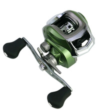 REELSKING Royale Legend Right or Left Baitcasting Reel 12BBs 7.0:1 Bait Casting Fishing Reel Magnetic and Centrifugal Dual Brake proleurre carbon baitcasting reel 18 1 bb super light casting reel centrifugal and magnetic brake system bass fishing carp