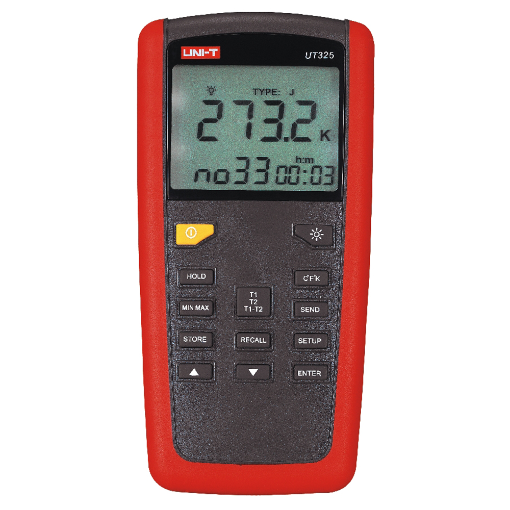UNI-T UT325 High/Lower Signal Output Temperature Meter Tester USB Interface UT325 Temperature Instruments цены