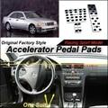 Педали акселератора автомобиль Pad / крышка завода дизайн модели / тип сверла установить для mercedes-benz c-класса MB w202-вкладыши 1993 ~ 2000 в