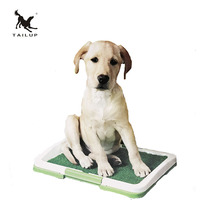 TAILUP Pet Training Toilet For Dogs ThreeTier Grid With Lawn Tray For Dogs Puppy Litter Boxes