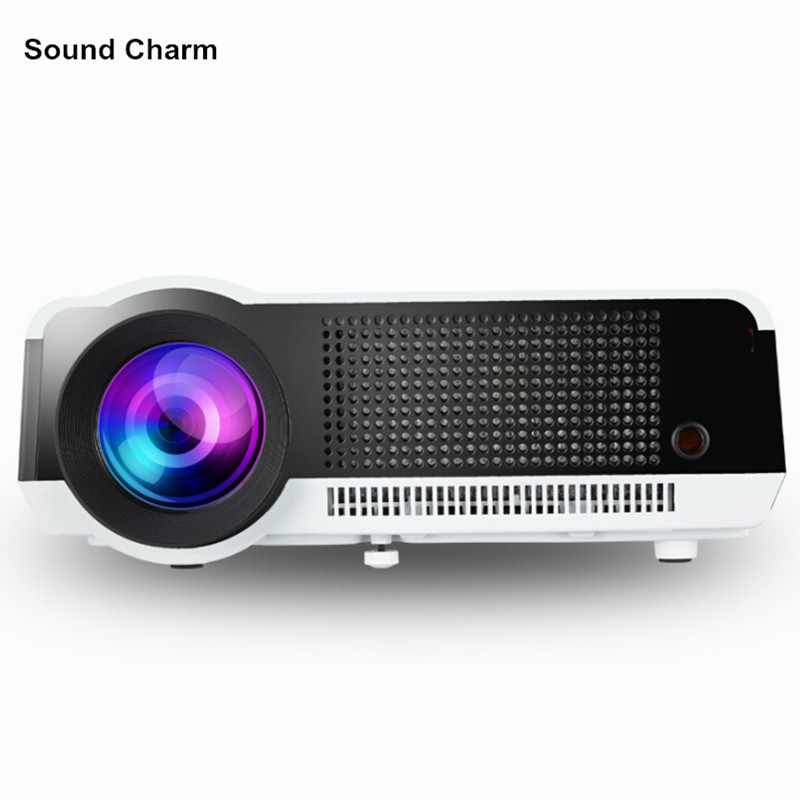 Native Full HD 1080P 5500Lumens Led Digital Smart 3D Projector,Perfect For Home Theater Projector sound charm full hd led 3d projector support 4k home theater projector