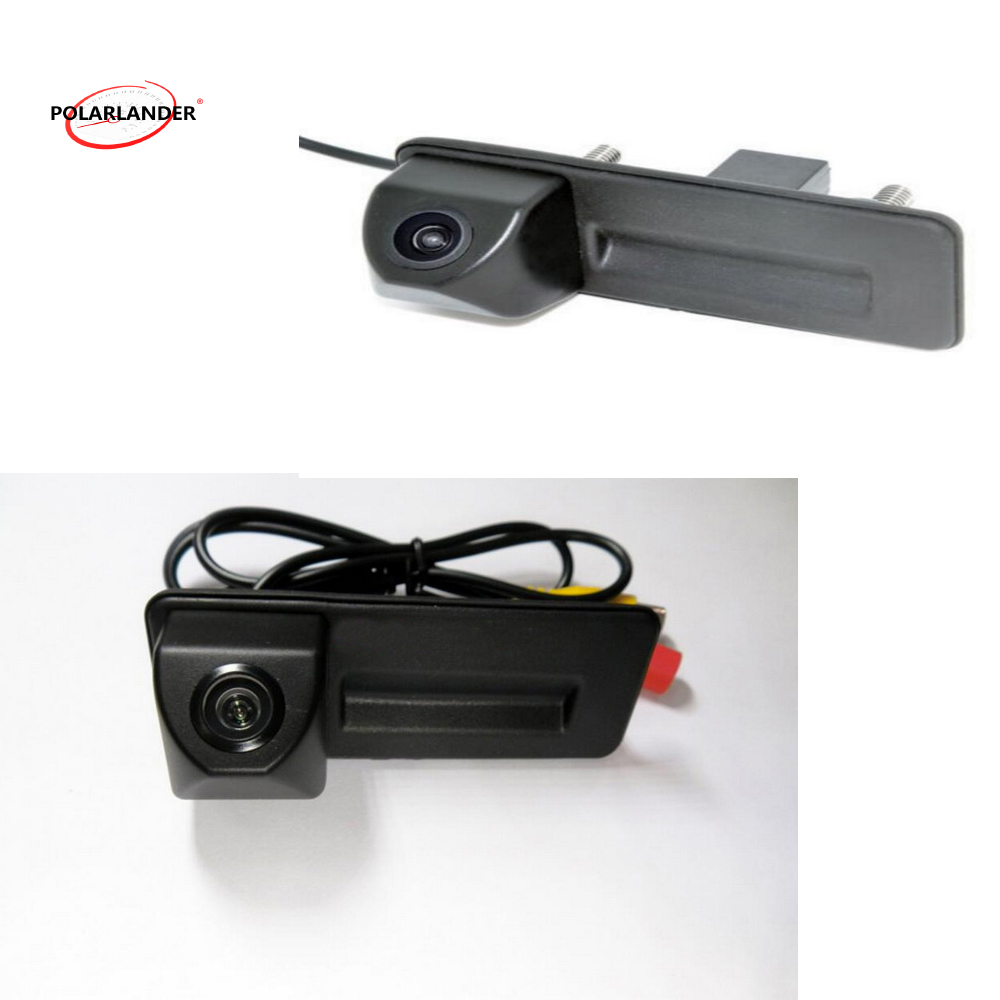 CCD HD car trunk handle reverse backup parking rear view rearview camera for A/udi A1 A7 A6 A5 RS5 Q5 Q3 S7 S6 A4 2014 S/koda