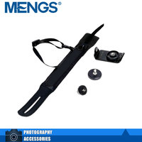 MENGS DSLR Camera Wrist Strap Hand Grip With Zinc Alloy Buckle And Nylon Ribbon For SLR