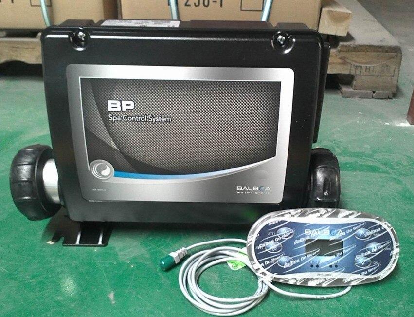 hot tub Balboa control box pack BP6013G3 + TP600 display panel with 3 x Jet pump temp Light Aux for 3 pump spa