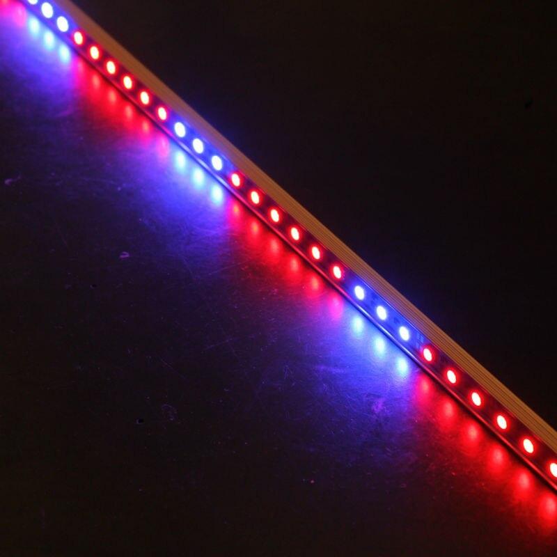 10pcs 0 5M 27Red 9Blue 12V LED10w grow light bars light font b strip b font
