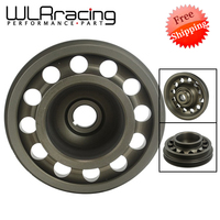 WLR FREE SHIPPING For Civic SOHC D16 OEM Size 92 95 Racing Light Weight Aluminum Crankshaft Pulley WLR CP009
