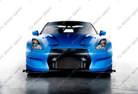 FRP Fiber Glass BSP Style Body Kit Fit For 2008 2015 R35 GTR CBA DBA Hood Bumper LED Side Skirt Fender Diffuser Spoiler Wing