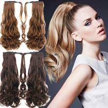 False Hair Tail Long Curly Ponytail Hairpieces Hair Tail Ponytail Hairpiece Synthetic Hair For Women Sale Multicolor Available