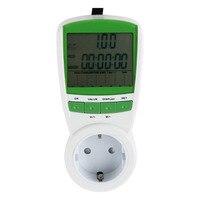 1pc Energy Power Meter Watt Volt Amp Frequency Monitor Analyzer 230V 50Hz energy monitor volt amp watt meter medidor de energia