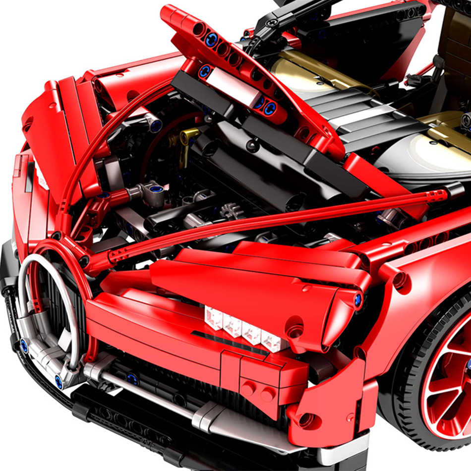 Detail Feedback Questions About Super Race Car Technic Series Red