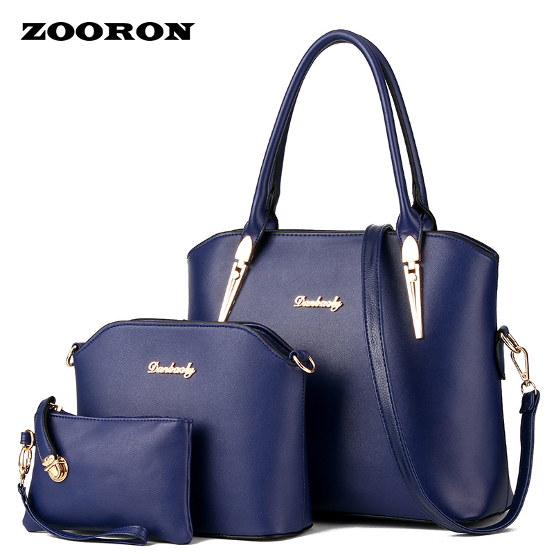 ФОТО ZOORON 2017 new women leather handbags female bag mother package bag hand mother bill of lading shoulder bag women bag