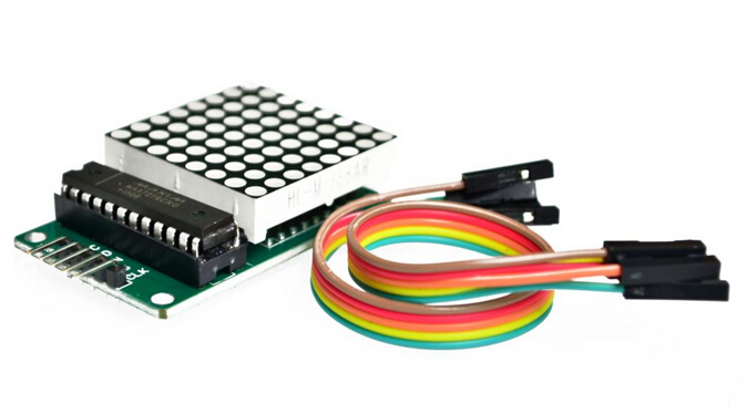 10pcs/lot MAX7219 dot matrix display module microcontroller module for arduino display module finished goods