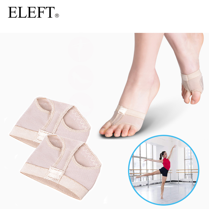 ELEFT Foot care belly ballet pads foot thong protection dance socks with toes separator costume gaiters accessories&insoles