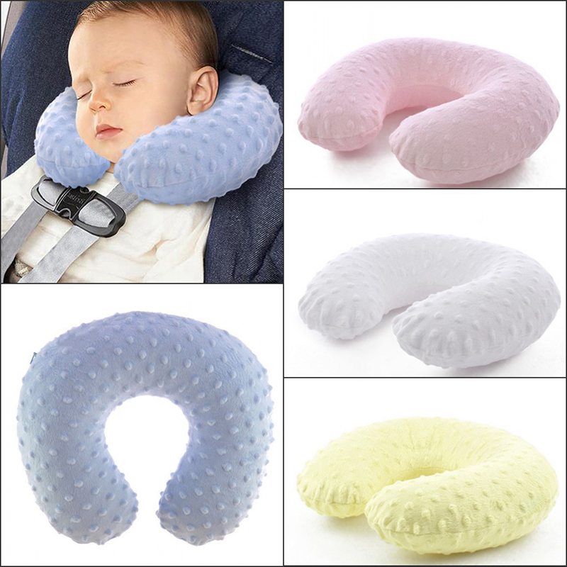 Hot Baby Travel U Shape Pillow Neck Protection Washable Children Pillow Sleeping Cushion Comfortable Portable Inflatable Pillows