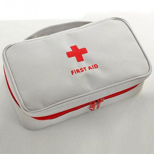 outdoor travel camping hiking first aid supplies carry bag home emergency rescue survival medical kits storage - First Aid Supplies