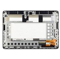 Para Asus MeMo Pad Smart ME301 ME301T 5280N pantalla LCD táctil digitalizador conjunto del sensor de pantalla con marco + herramientas|Tablets LCD y paneles| |  -