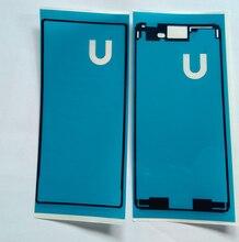 New 1pcs front adhesive+1pcs back adhesive sticker For Sony Xperia M4 Aqua tape glue free shipping