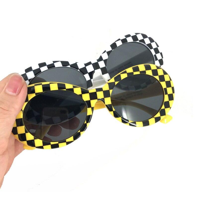 QPeClou 2017 Hot owalne okulary przeciwsłoneczne damskie