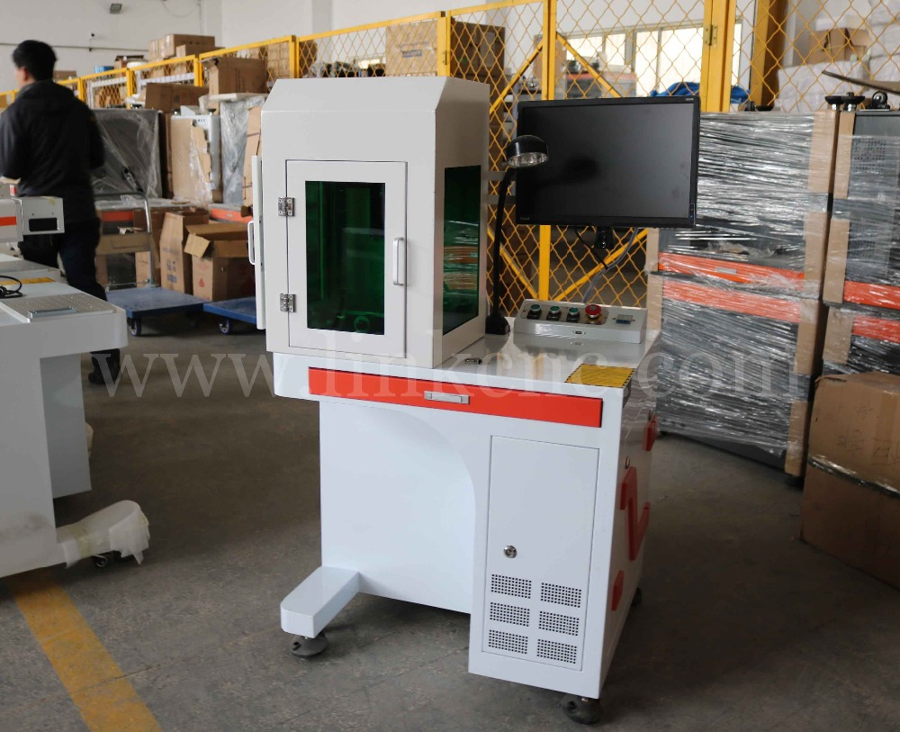 China Professional Manufacture Fiber Laser Marking Machine Price Marked 2d Bar Codes On Printed Circuit Board With Ce Qr Code Cnc Metal Engraving In Wood Routers From Tools