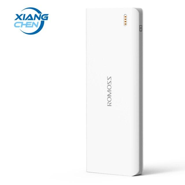 Оригинал ROMOSS 25000 мАч Power Bank Sense 9 Powerbank Внешний Резервный Телефон Мощность 18650 Батарея 3 USB