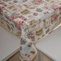 Fashion DIY Cotton Fabric Fabric Fluid Cloth Curtain Fabric Home Sofa Table Cloth Fabric Rose