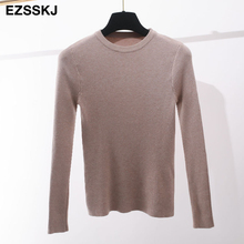 Knitted o-neck Pullovers