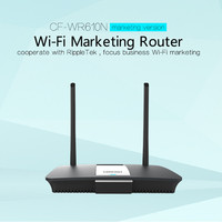 300Mbps CF WR610N 2.4G Wireless Router Dual Data Transmission 60+ Wireless Users WiFi Router with 1WAN+4 LAN port 2*7dBi antenna